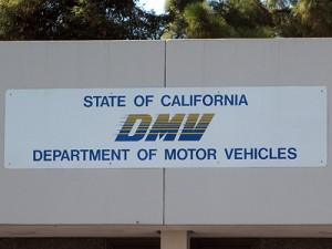 California Dept of Motor Vehicles